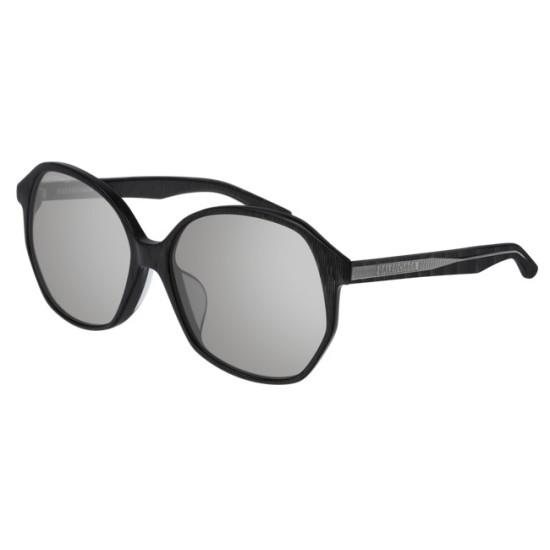 Balenciaga BB0005SK - 004 Grau   Sonnenbrille Frau
