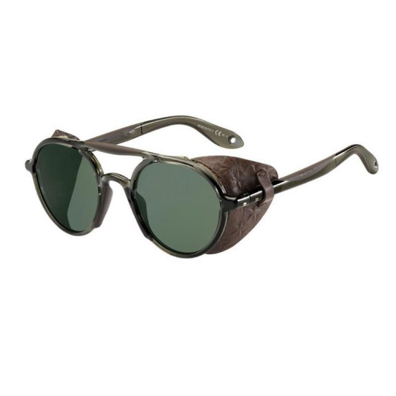 GIVENCHY Givenchy Sonnenbrille » GV 7038/S«, schwarz, TFD/UZ - schwarz/rot