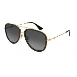 Gucci GG0062S 011 Polarisiertes Gold
