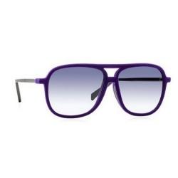 Italia Independent I-PLASTIK 0035V - 0035V.017.000 Violett Mehrfarbig
