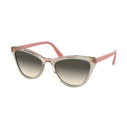 Prada PR  01VS Catwalk 326130 Transp Braun / Transp Pink