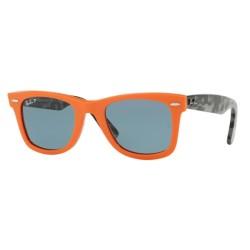 Ray-Ban RB 2140 124252 Wayfarer Original Orange Polarisiert