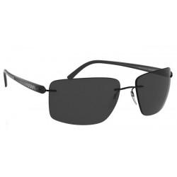 Silhouette Carbon T1 8686 6200 Schwarz Polarisiert