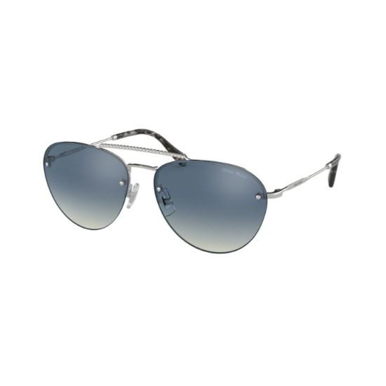 Miu Miu MU  54US - 1BC3A0 Silber- | Sonnenbrille Frau