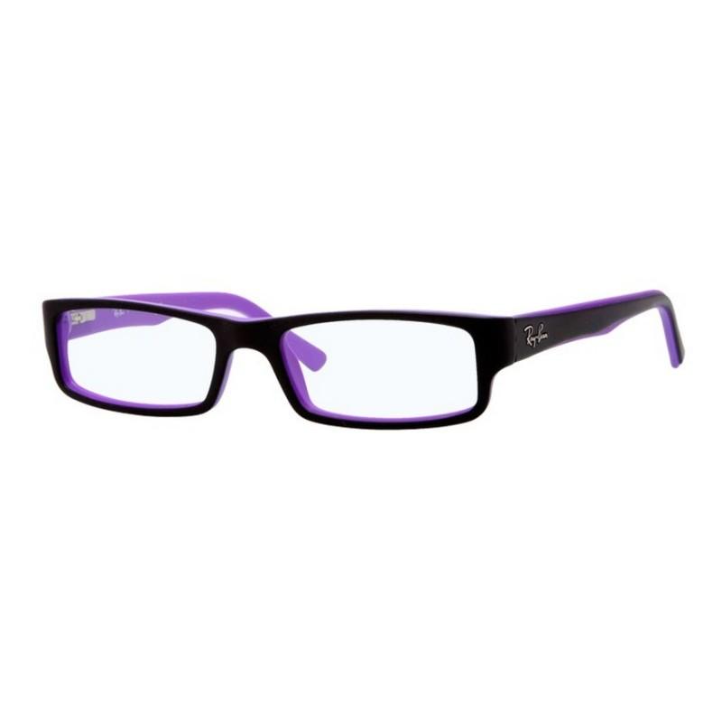 7d56d51900 Ray-Ban RX 5246 5223 Schwarz Violett